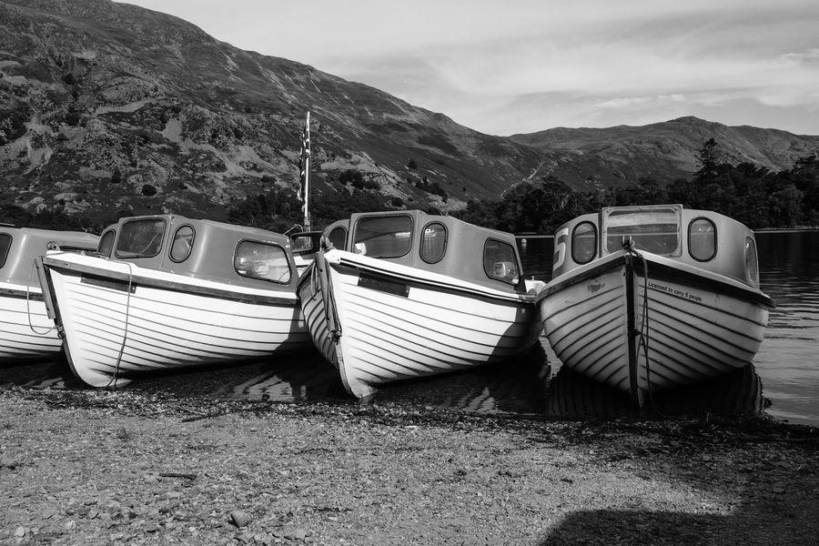 Ullswater Lakeside - Lake District, UK, 2018 Lake District Ullswater Beauty In Nature Day Fujifilm Lake Mode Of Transportation Nature Nautical Vessel No People Outdoors Sailboat Sailing Sky Transportation Xseries