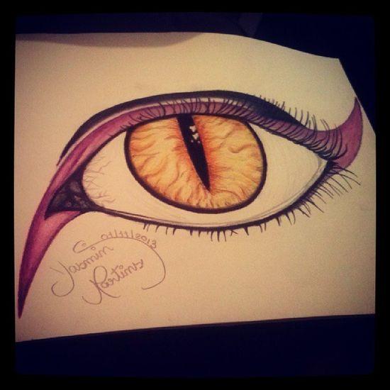 Voltei Desenho Arte Atrasada halloween rabisco olho amooo @weudresGabriel :3