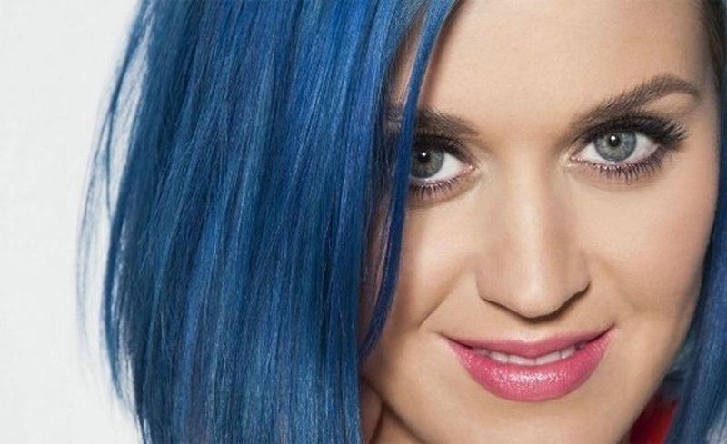 Katy Perry BlueHair Perfect <3