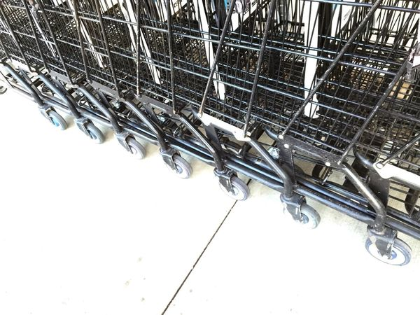 Everything In Its Place Trolleys Carts Rows Of Things Shopping Cart Shopping Carts Fine Art Photography Home Is Where The Art Is
