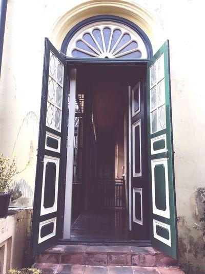 Door Chinese Culture Culture Medan Tjongafiemansion Door Entrance Window Doorway Built Structure Open Architecture No People Entry Building Exterior Outdoors