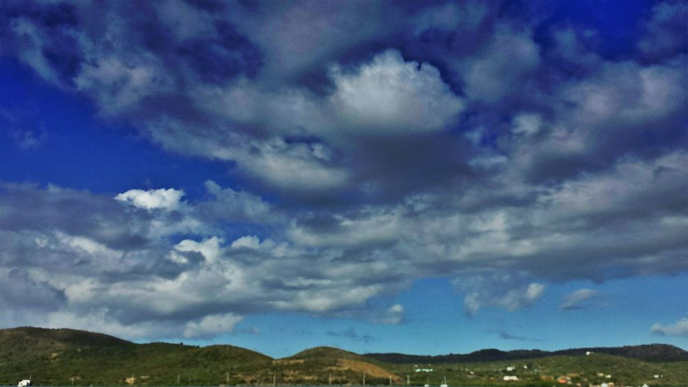 ... Taking Photos Island Sky And Clouds in Isla Culebra , Puerto Rico