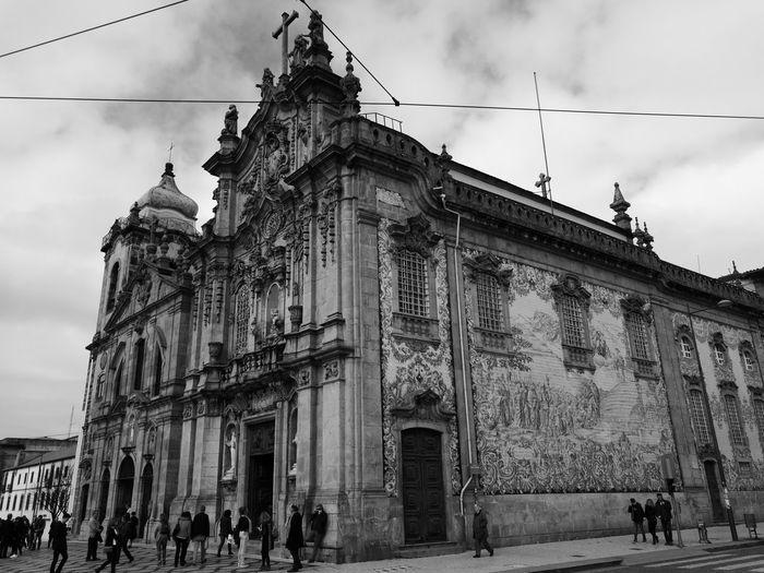 Porto Blackandwhite Architecture