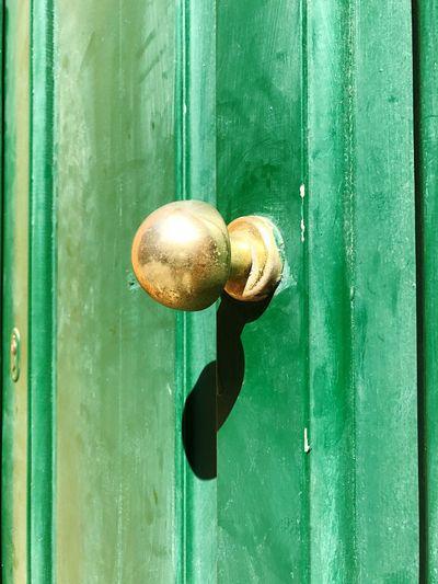 Full Frame Shot Of Door Handle