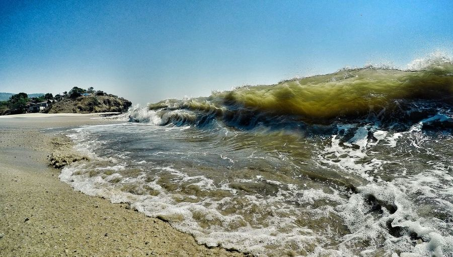Showcase: December Protecting Where We Play Spreadthelust Waterlust Oceantribe Shorebreak Waves Wavephotography Incredibleindia Waves, Ocean, Nature Surf's Up