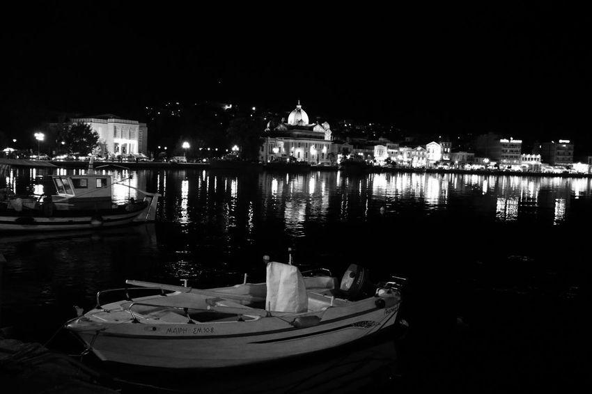 Mytilene, Lesbos, Greece. Water Outdoors Boat Blackandwhite Sea Sea And Sky Greece Lesbos EyeEmNewHere