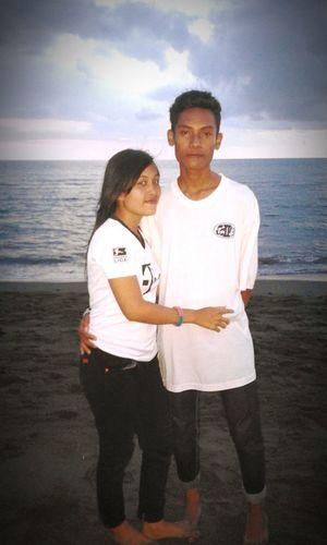 With my hony
