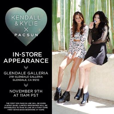 Counting down till our Pacsun meet & greet ! We better see you this sunday at the Glendale Galleria at 11am. 5days Kandk4pacsun
