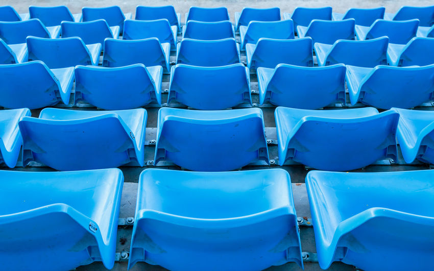 Blue seat or