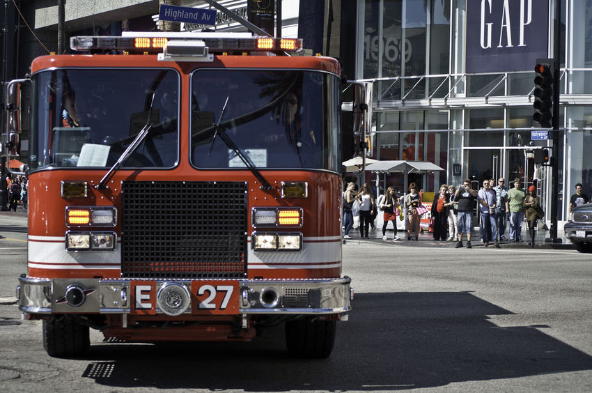 Candid Candid Photography City Life Close Up Day Emergency Fire Engine Loud Red Streetphotography Urban