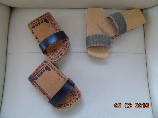 Hand made Bosnia Bosnia And Herzegovina Culture Footwear Funny Shoes Handmade Interesting Pictures Lether Little Shoes Old Shoes Sandal Sandals Shoe Smartphonephotography Still Life Wood - Material Wooden