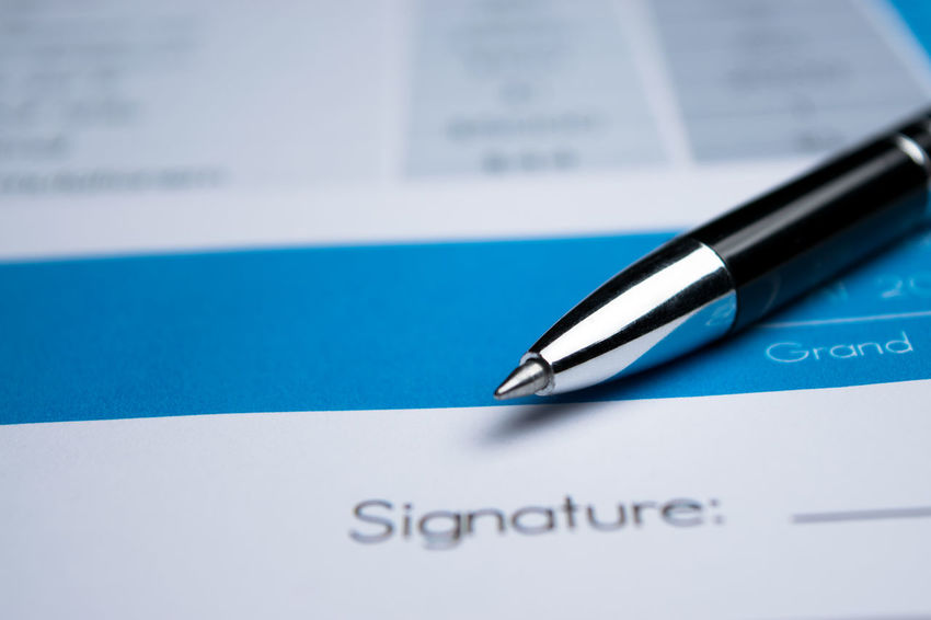 Signature business concept Business Economy Sign Write Writing Business Concept Close-up Concept Conceptual Deal Finance Finance And Economy Paper Pen Photography Signature Signing Text Type