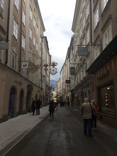 The Secret Spaces Salzburg, Austria Getreidegasse