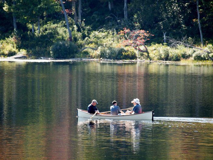 Canoeing Fall