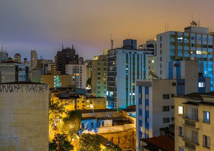 Architecture Building Exterior Built Structure City Building Sky Illuminated Residential District Nature No People Dusk Cityscape Outdoors Street Night Travel Destinations Urban Skyline Apartment Office Building Exterior