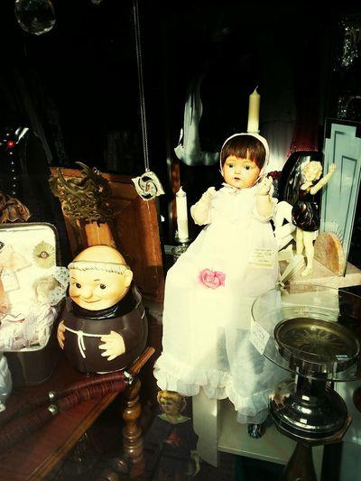 Mönch Psycho Puppen Horror