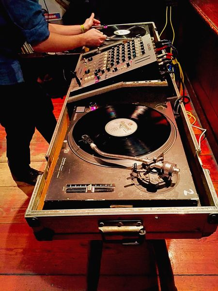 Spinning Vinyl Dj Djs At Work DJing Hands At Work Hands Club Night Music Music Equipment Mixing Sound Mixing Records Pub Tunes Turntable Records Vinyl Decks Djing Partying
