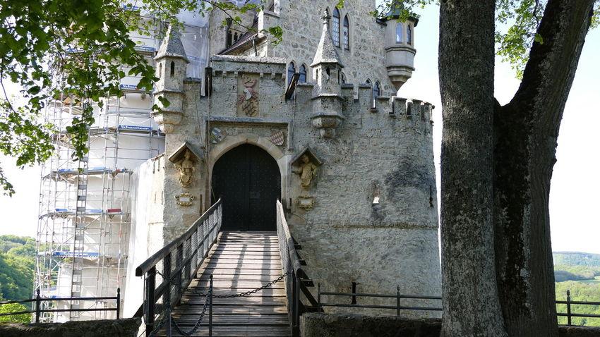 Architecture Baden-Württemberg  Castle Day Deutschland EyeEm Best Shots EyeEmNewHere GERMANY🇩🇪DEUTSCHERLAND@ History No People Outdoors Schloss Lichtenstein Tree