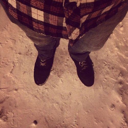 Every day attire Boots Plaid Jeans Longjohnstokeepmymeatandtwovegwarm