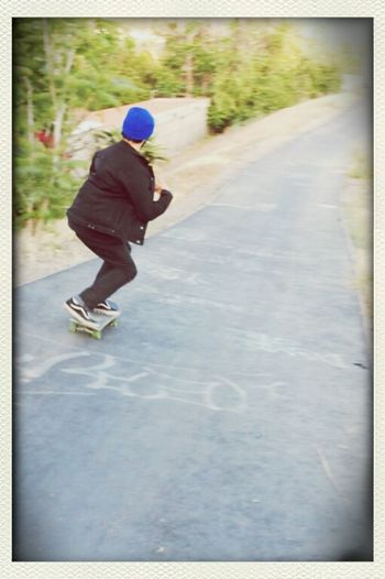 The spirit of Skateboarding is far more important than just the tricks 60mm Hillbomb Crusing