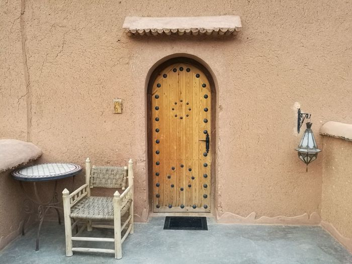 Morocco room Soonjourney MyWanderLust Morocco Africa Door Chair Architecture Built Structure Entrance Doorknob Closed Door Archway Gate Door Knocker Front Door Entry