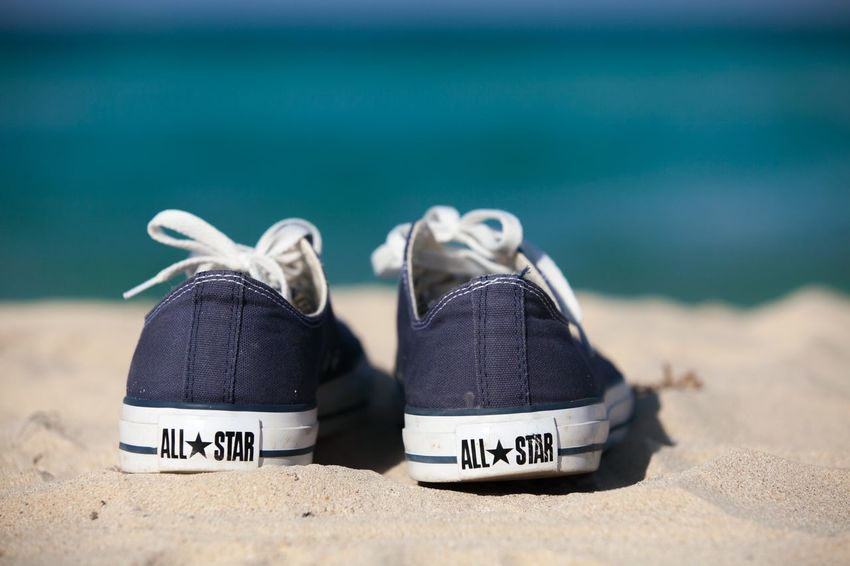 Beach Sand Sea Shore No People Day Text Focus On Foreground Outdoors Close-up Water Vacations Horizon Over Water Nature Beauty In Nature Converse Cuba Santa Maria Beach