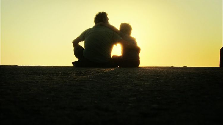 Me and my son.. Sunset Silhouettes Hanging Out With My Son Enjoying The Sun Relaxing In The Sun