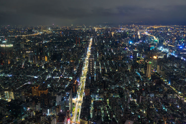 The great view from taipei 101