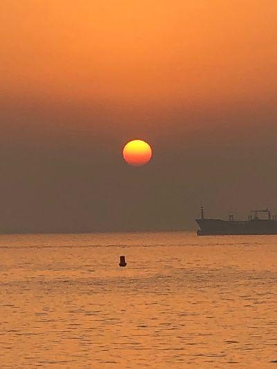 Sunset straits