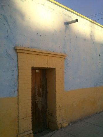 Architecture Building Exterior Built Structure Day Mexican Colors No People Old Building Exterior Old Home Outdoors
