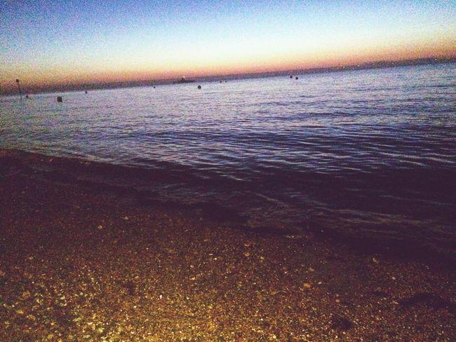 Sunset Nighttime Relaxing HerneBay