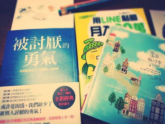 I got the new Books.
