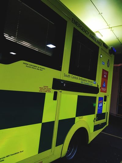 Ambulance Ambulance Service Ambulance Staff Night Shift Paramedic Paramedics Night Photography Yellow Student Photographer Student Paramedic Second Year