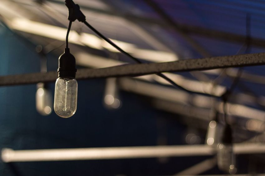 Last light Light And Shadow Night Lights Focus On Foreground Hanging Close-up No People Low Angle View Indoors  Wind Chime Night Photography Street Streetphotography T3i 50mm 1.4 Auckland NZ Canonphotography Canon Bulbphotography Bulb Blue Sidelight
