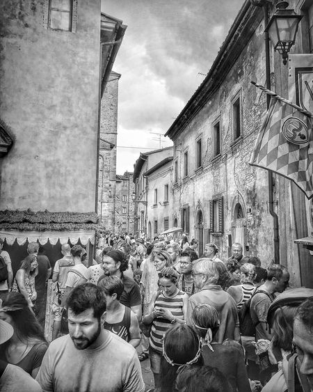 Volterra - medieval commemoration | #ShotOniPhone6S #ProCamera | Snapseed