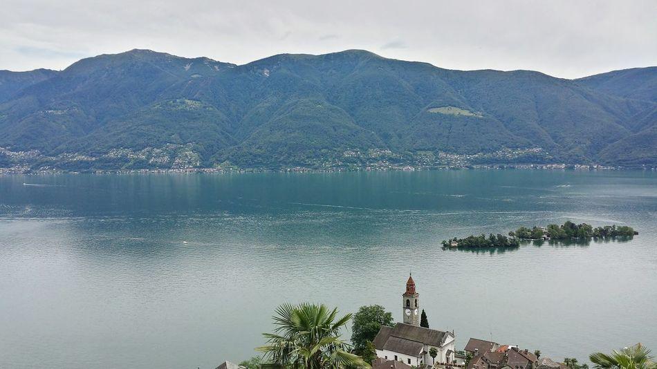 Vista Dall'alto View Vista View Isole Di Brissago SamsungJ5