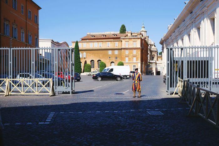 Swiss guard X100S FUJIFILM X100S Fuji X100s Streetphotography Street Photography Pope Guard Vatican VaticanCity Vaticano