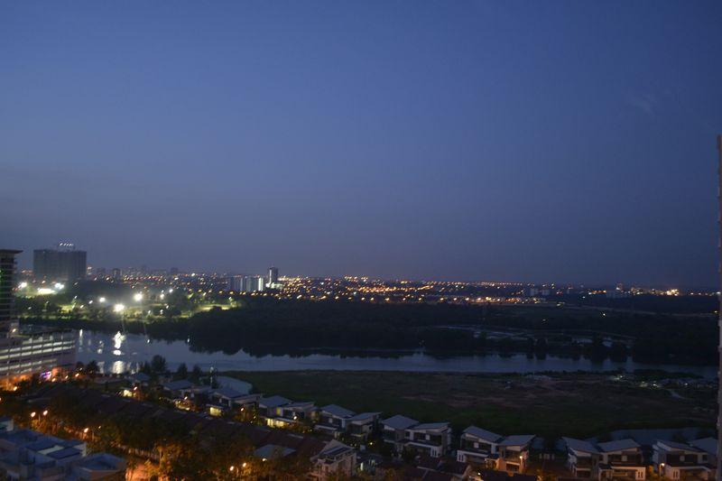Dusk Night City