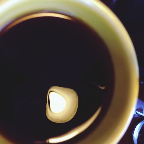 A cup of coffee. Still Life Abstract