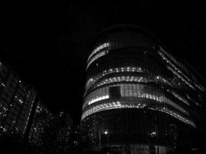 Light In The Darkness Monochrome Chai Wan