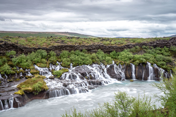 Clouds Green Iceland Iceland_collection Landscape Landscape_Collection Landscape_photography Landscapes With WhiteWall Sky Water Waterfall