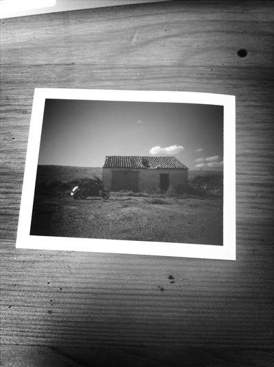 Road trip to Bardenas Polaroid Bardenas Reales SPAIN Desert First Eyeem Photo