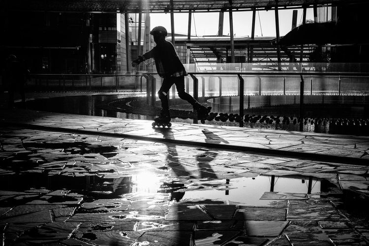 Candid Child Full Length Outdoors People Reflection Street Photography Streetphoto_bw Streetphotography
