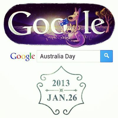 Australia Australiaday Happy Google celebration holiday instafollow photooftheday