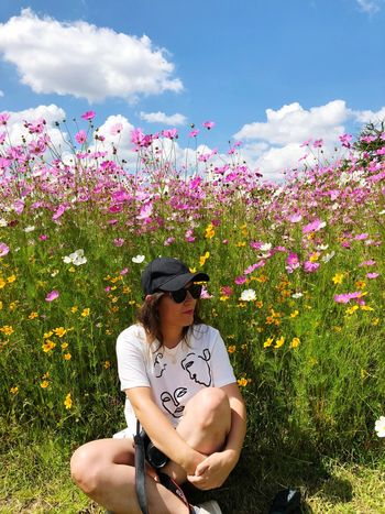 There is nothing better than nature RespectNature Enjoying Life Relaxing Real People Lifestyles Leisure Activity Nature Sky Cloud - Sky Casual Clothing Vulnerability  Day Outdoors Beauty In Nature