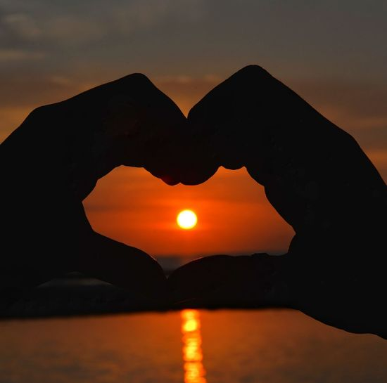 love and sunset Sunset Desert Sunset Water Silhouette Sun Arid Climate Mountain Red Shape Awe Romantic Sky Dramatic Sky Moody Sky Cloudscape My Best Photo
