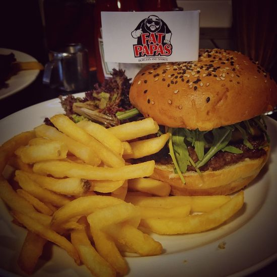 Delicious Burger. That beef petty is the bomb. Fatpapas Burgers Burgers & Fries Food Burgersandshake