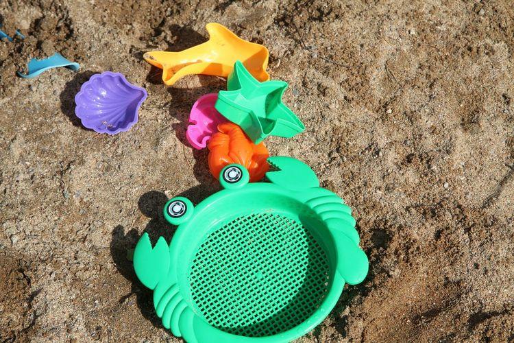 Colors Toys Sand Sandtoys
