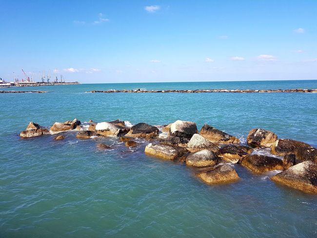 Sea Sky Horizon Over Water Water Nofilter S7edgephoto