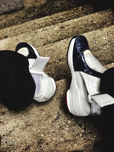 Fly somewhere ☁️☁️ Shoe Low Section Human Leg Pair High Angle View Two People Standing Real People Day Lifestyles Men Human Body Part Outdoors Togetherness Adult Only Men People